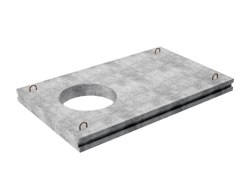 Плиты перекрытия люк отверстие опора лэп металлическая высота