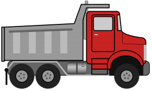 dump-truck-clipart-black-and-white-dumptruck копия
