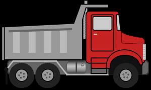 dump-truck-clipart-black-and-white-dumptruck копия
